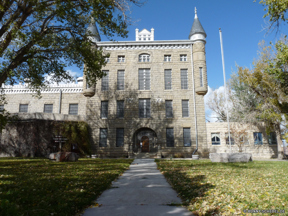 Old Wyoming State Prison